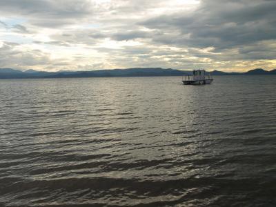 天神浜(猪苗代湖)