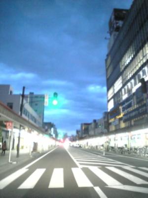 夜の一歩手前@神明通り