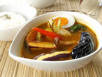 会津地鶏のスープカレー@Cafe Savai