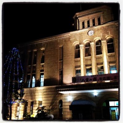 会津若松市役所 本庁舎(ライトアップ&イルミネーション)