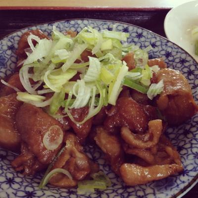 塩川鳥モツ@アタミ食堂