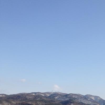 2012年3月11日の空@会津若松市