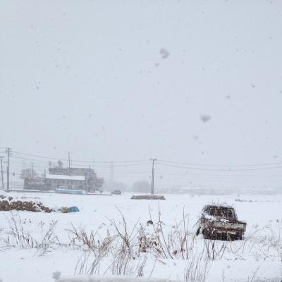 午前中の会津若松市内(2012/03/12)