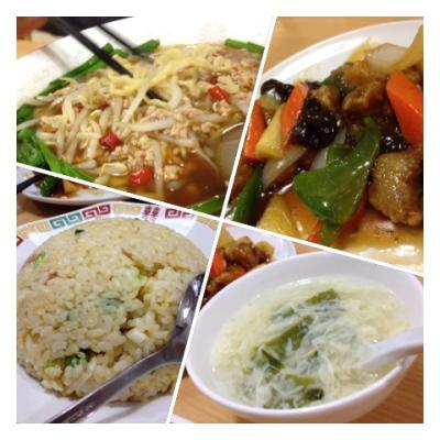 台湾ラーメン&酢豚@「台湾料理 中源」