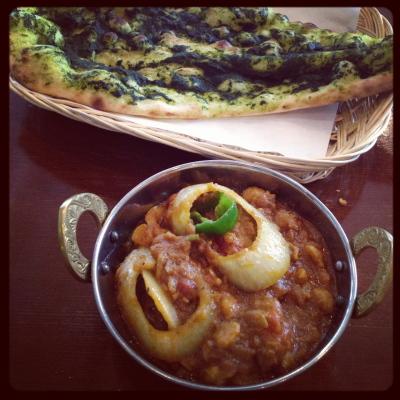 チャナマサラ&グリーンナン@インド食