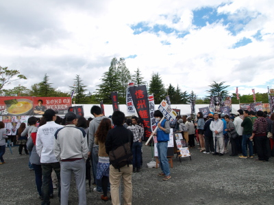 ふくしまラーメンショー2012@開成山公園_2012/05/04