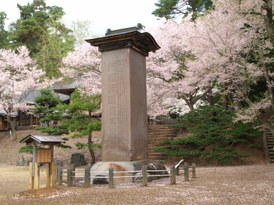 土津神社の桜_2012/05/06