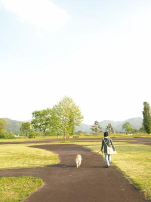 十兵衛母さん&小雛さん@せせらぎ公園