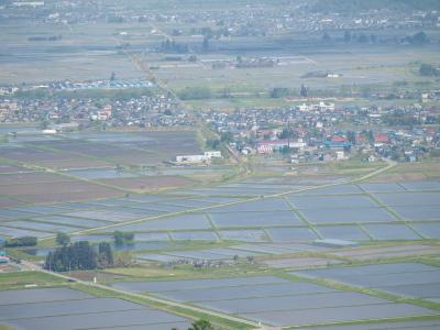 蓋沼森林公園より会津美里町の眺め_2012/05/19