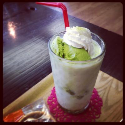 K-STYLEの氷カフェ(抹茶)