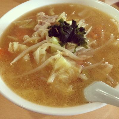 味噌タンメン@吉田食堂