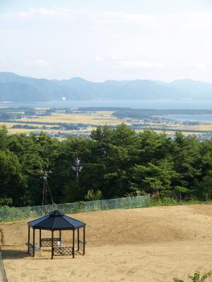 磐梯スノーDogs(バルコニーからの眺め)@猪苗代町
