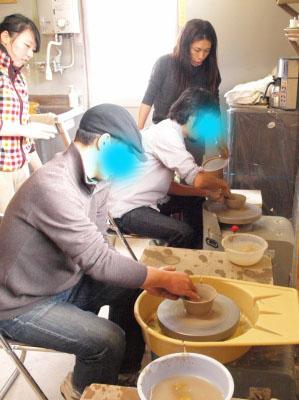 会津本郷焼体験_「樹ノ音工房」ろくろ体験