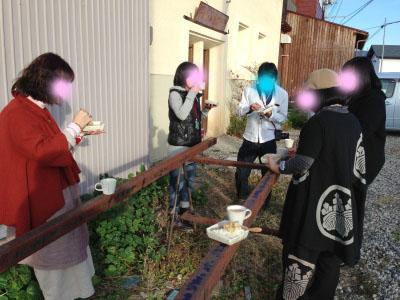 折折倶楽部グループ展Vol.5@yuinoba (最終日)