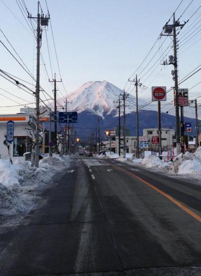 富士山(富士吉田市より)