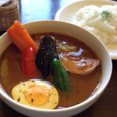 季節の野菜スープカレー@スープカリー・ウィザーズ