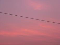 夕空 パープル