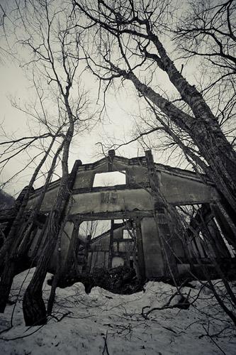 北海道 -夕張炭鉱大新坑-