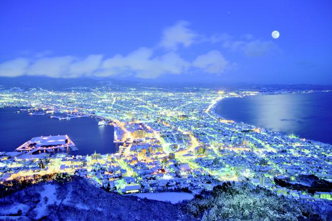 087.函館冬夜景