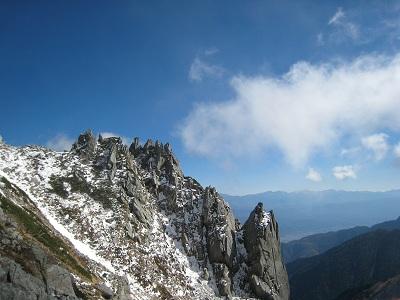 宝剣岳~車山2010.11.5~7 016