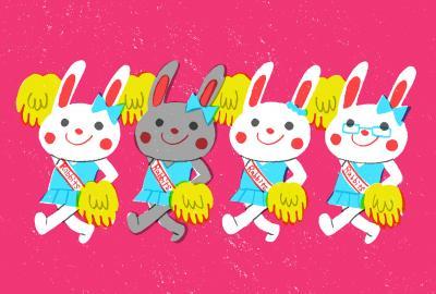 Cheer Rabbits!!①