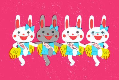Cheer Rabbits!!②