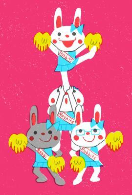 Cheer Rabbits!!③