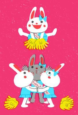 Cheer Rabbits!!④