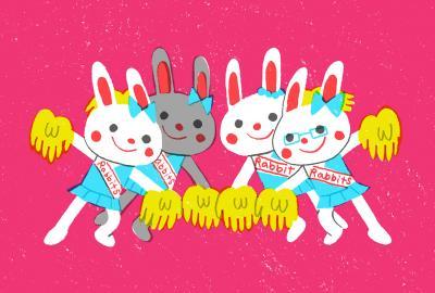 Cheer Rabbits!!⑤