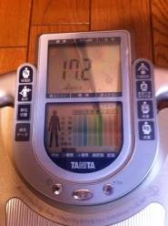 体脂肪率1210