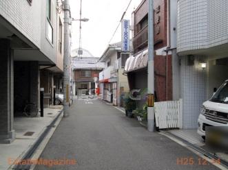 阪南町一丁目前面道路