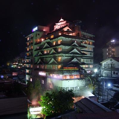 400×400外観夜景