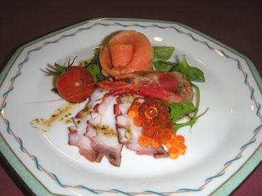 トレスタ前菜