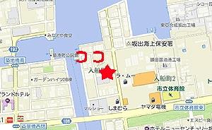 いただきさんの海鮮食堂地図
