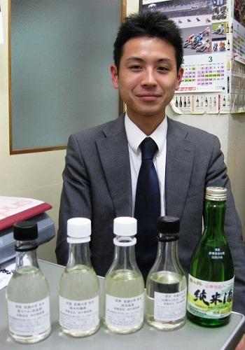 田中酒造場ご来店