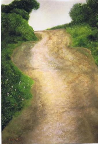 地の風景 坂の道