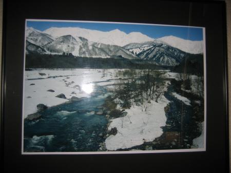 雪解けの川(白馬)