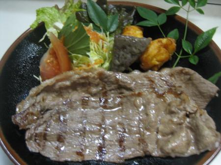 特選焼しゃぶステーキ(150g) 1780円