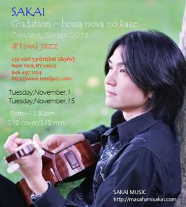 Tomi Jazz on November Gig 2