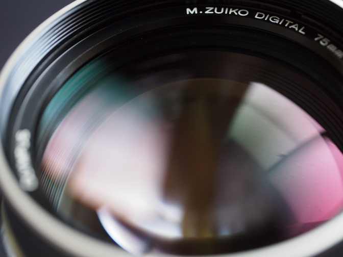 ZEROコーティング(Zuiko Extra-low Reflection Optical coating)