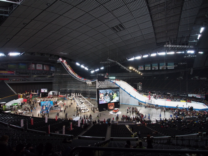 TOYOTA BIG AIR in Sapporo Dome