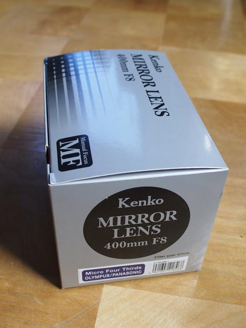 Kenko/MIRROR LENS 400mm F8 マイクロフォーサーズ用