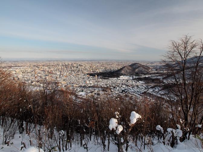円山方面眺望