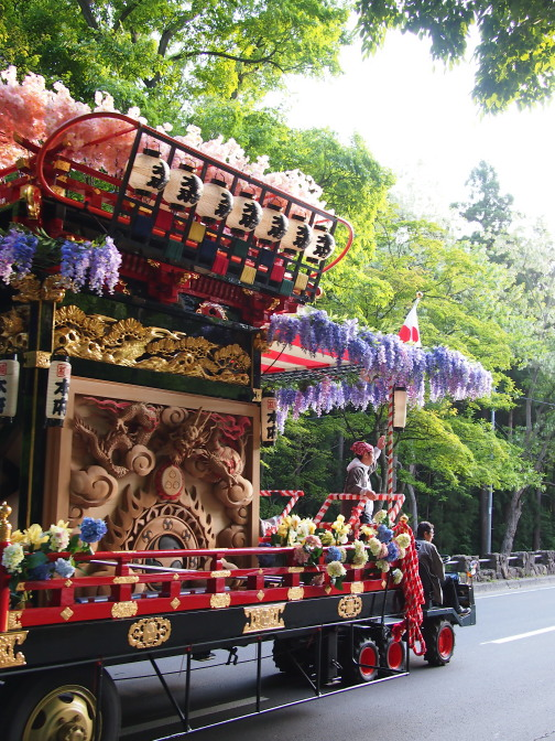 札幌まつりの神幸行列