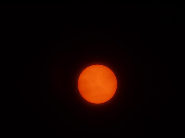 金星の日面通過/第一接触