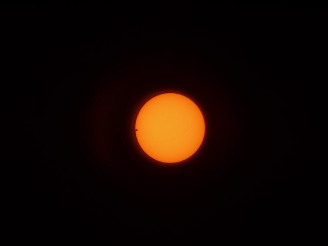 金星の日面通過/第二接触