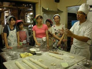 フランスパンとディップ教室 012