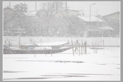 広沢池の船