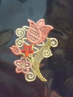 ムカラ刺繍ワッペン