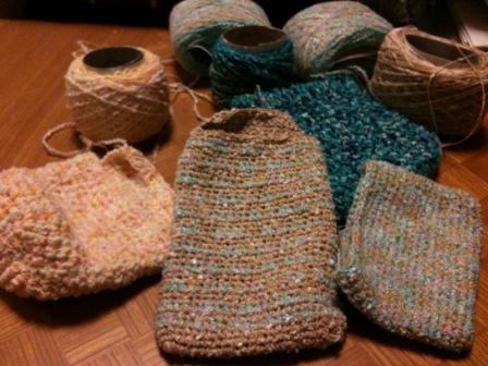 編み散らかし
